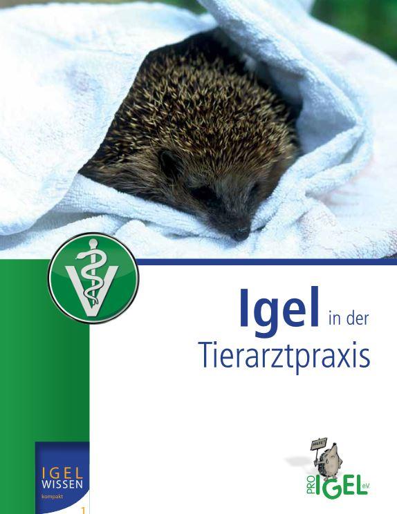 Sollte in keiner Tierarztpraxis fehlen: das Buch Igel in der Tierarztpraxis
