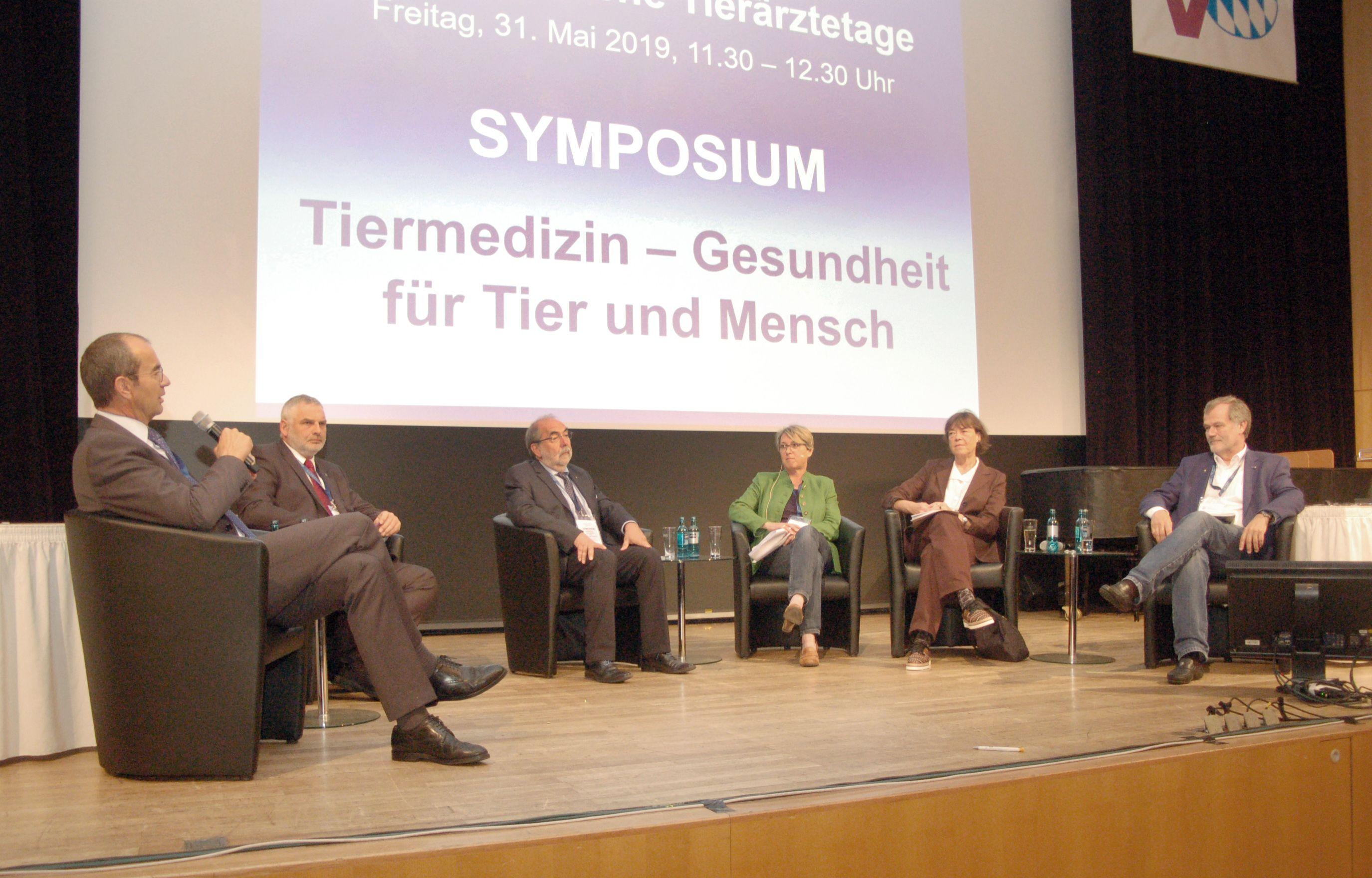 Symposium Tiermedizin auf dem BLTK 2019 in Nürnberg