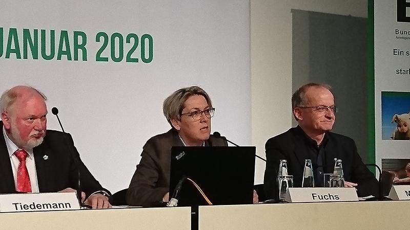 Pressekonferenz der BTK auf der Grünen Woche 2020.