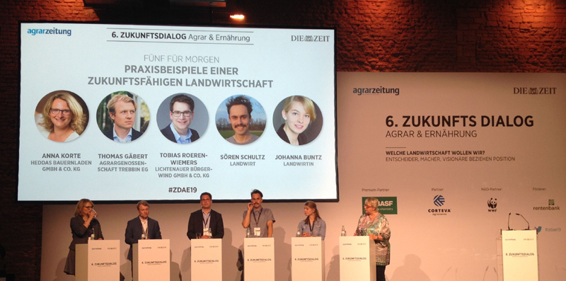 Impressionen vom 6. Zukunftsdialog Agrar und Ernährung in Berlin